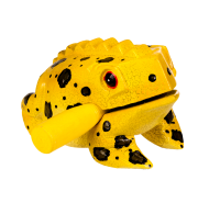 Frog guiro colored 14cm