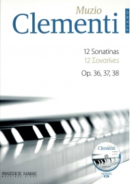 Clementi 12 sonatinas Op.36,37,38 + CD