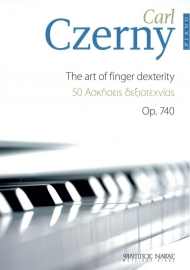Czerny 50 the art of finger dexterity Op.740