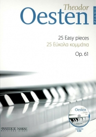 Oesten 25 easy pieces Op.61 + CD