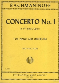 Concerto no.1 in F# minor, opus 1