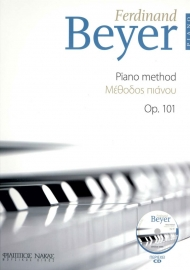 Beyer piano method Op. 101 + CD
