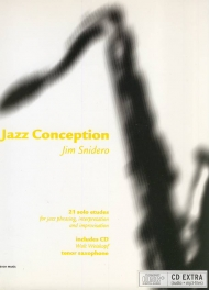 Jazz conception for tenor saxophone