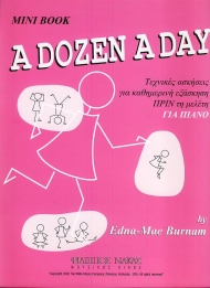 A dozen a day-mini book