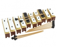 Chime bars set with 10 note alto