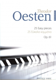 Oesten 25 easy pieces Op.61