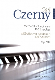 Czerny 100 method for beginners Op.599