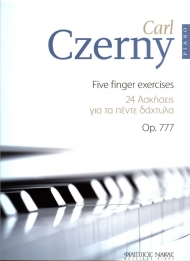 Czerny 24 five finger exercises Op. 777