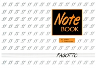 Music Notebook: Fagotto Classic S