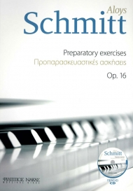 Schmitt preparatory exercises op. 16 + CD
