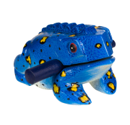 Frog guiro colored 20cm