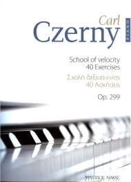 Czerny school of velocity 40 exercises Op.299