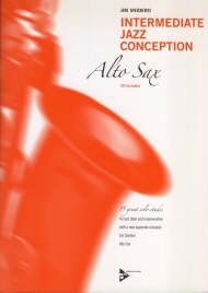 Intermediate jazz conception for alto saxophone